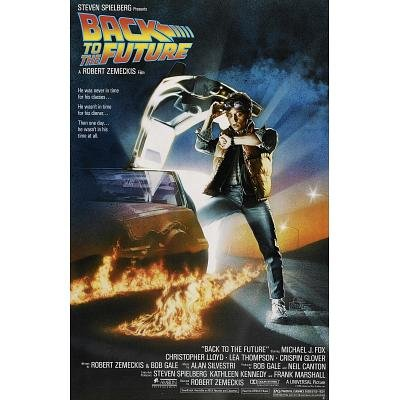 Back to the Future Michael J Fox Movie Poster