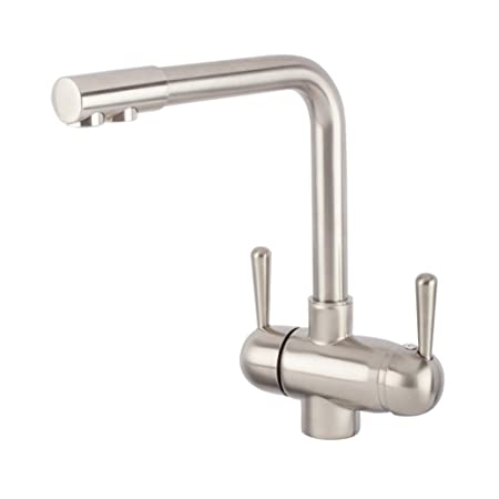 3 Way For Hot Cold And Filtered Water Tap Gm L Spout Nickel