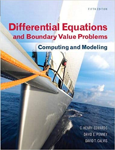 Differential Equations and Boundary Value Problems: Computing and