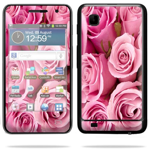 MightySkins Protective Skin Decal Cover for Samsung Galaxy Player 3.6 MP3 Sticker Skins Pink Roses