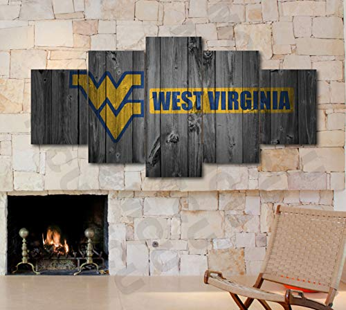 Wood Virginia University - 5 Piece