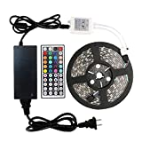 WenTop Led Strip Lights Kit Waterproof SMD 5050 16.4 Ft (5M) 300leds RGB