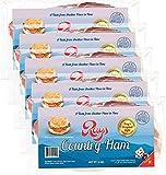 Rays Country Ham - 3 3/4 lb. / 5 - 12 oz. Packs - Blue Ridge Mountain Cured