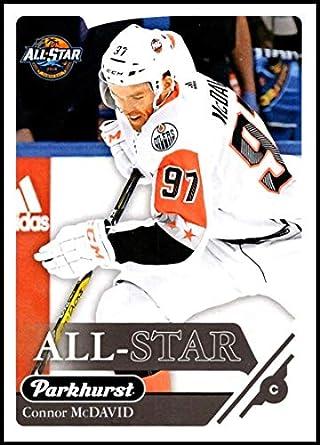 Amazon.com  2018-19 Upper Deck Parkhurst  321 Connor McDavid All Star Team  Official NHL Hockey Trading Card  Collectibles   Fine Art d91644461