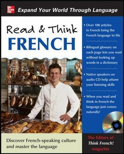 Read & Think French with Audio CD by McGraw-Hill Education (Image #3)
