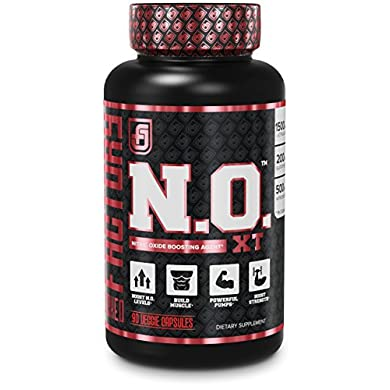 NO-XT-Nitric-Oxide-Supplement-With-Nitrosigine-L-Arginine-L-Citrulline-for-Muscle-Growth-Pumps-Vascularity-Energy-Extra-Strength-Pre-Workout-NO-Booster-Muscle-Builder-90-Veggie-Pills