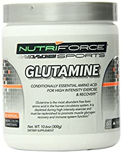 Nutriforce Glutamine Amino Acids Supplement, 10.6 Ounce