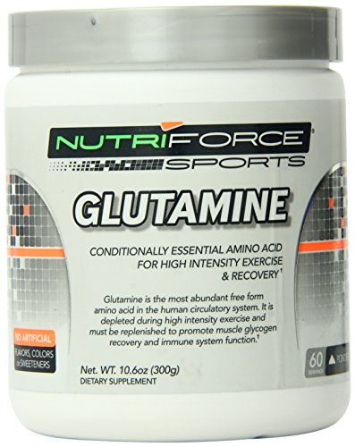 Nutriforce Glutamine Amino Acids Supplement, 10.6 Ounce by Nutriforce