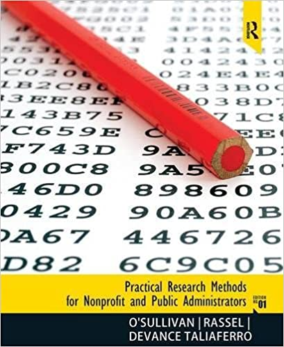 Amazon practical research methods for nonprofit and public practical research methods for nonprofit and public administrators 1st edition fandeluxe Image collections