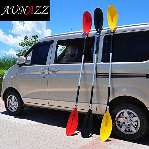 aunazz/cm largo combinada doble portátil de aluminio ...
