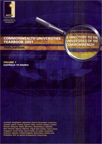 Commonwealth Universities Yearbook: A Directory to the Universities of the Commonwealth and the Handbook of Their Association
