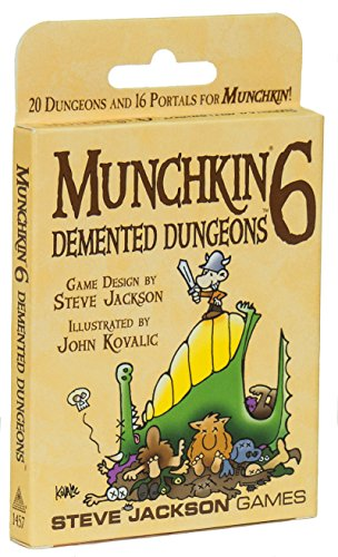 Game Expansion Board Player 6 (Steve Jackson Games Munchkin 6 – Demented Dungeons)