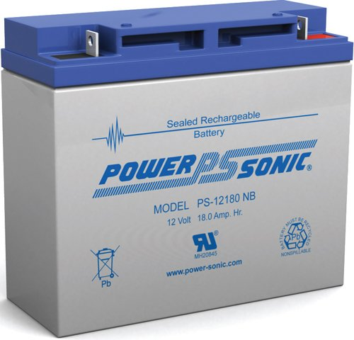 - Powersonic 12V 18AH 51913 BMW K1200LT K1200RS AGM SLA Motorcycle Battery