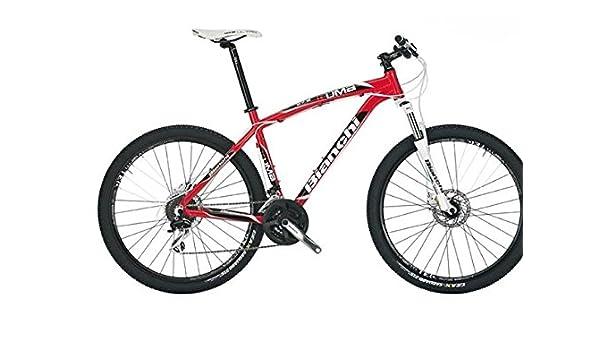 Bianchi - Bicicleta de montaña Kuma 27.2 Acera/Altus, Hombre, rojo ...