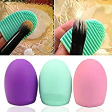 HeroNeo® Cleaning MakeUp Washing Brush Silica Glove Scrubber Board Cosmetic Clean Tools