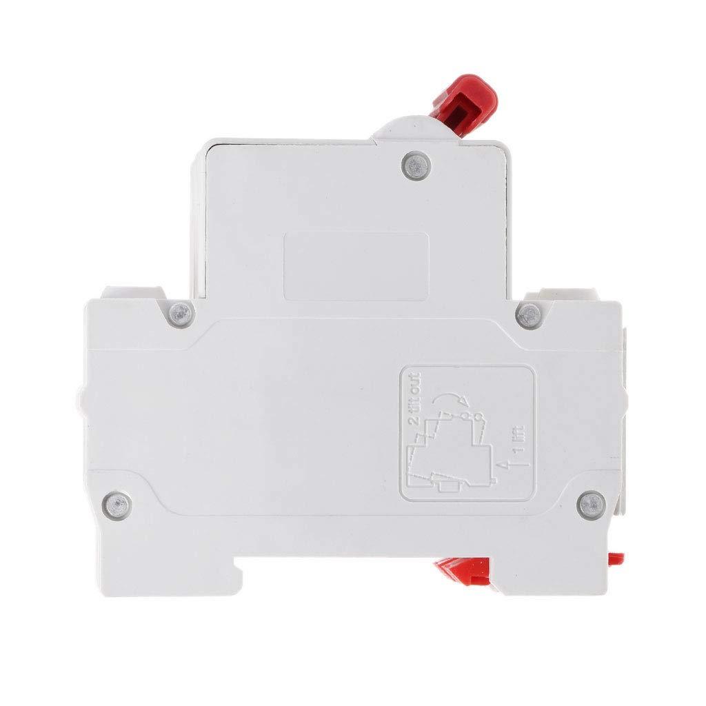 2P DC 1000 V Solar Mini Circuit Breaker 10A//16A//32A//50A//63A DC Photovoltaic MCB