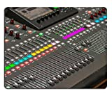 MSD Mousepad Image ID 27238113 Sound console detail DJ and audio operator equipment to produce a musical production