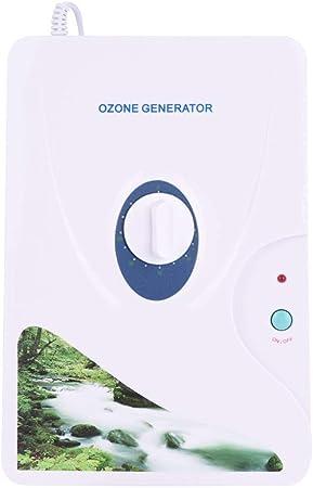 Acqua del generatore dellozono purificatore dellaria del generatore dellozono 600mg//h Sterilizzatore della verdura del generatore dellozono Macchina disintossicante dellozono dellacqua