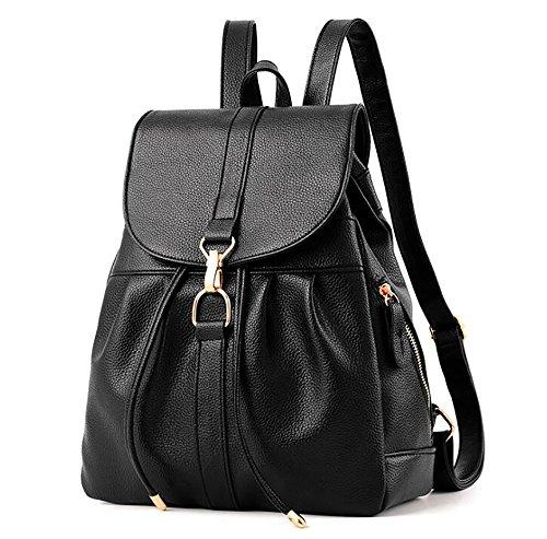 sac 11 en femmes à dos multifonctionnel 24 31cm décontracté souple PU sac main de mode cuir à de Sac w4qAgTxnW7