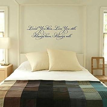 Amazon.com: Bedroom Wall Decal - Vinyl Wall Quote - wall decor ...
