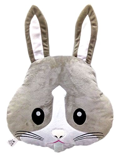 WEP Rabbit Bunny Emoji Pillow Emoticon Cushion Soft Plush Toy Doll