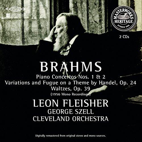 Brahms: Piano Concertos Nos. 1 & 2 / Handel Variations, Op. 24 / Waltzes, Op. 39 ()
