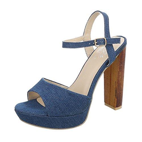 Ital Para Tac de Sandalias Vestir Mujer Zapatos Mini Design 6rqw1U46
