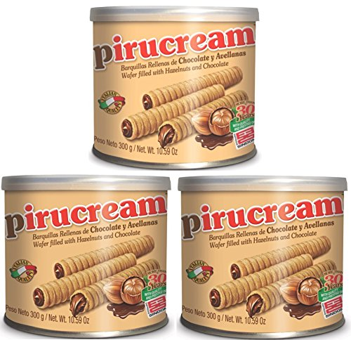 Three Pack Pirucream Can 300 grs./ 10.59 Oz