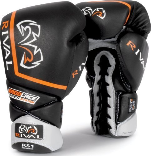 Rival Boxing High Performance Lace-Up Long Cuff Pro Sparring Gloves