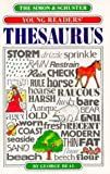The Simon and Schuster Young Readers' Thesaurus, George Beal and Simon and Schuster Staff, 0671508164