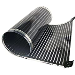 A gentle electric radiant heat system designed specifically for dry installation under floating wood and laminate floors. A low profile, line voltage system, it features gradual warmth from low wattage resistance heating of ultra-thin, flexib...