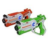 Kidzlane Infrared Laser Tag Game - set of 2 Green / Orange