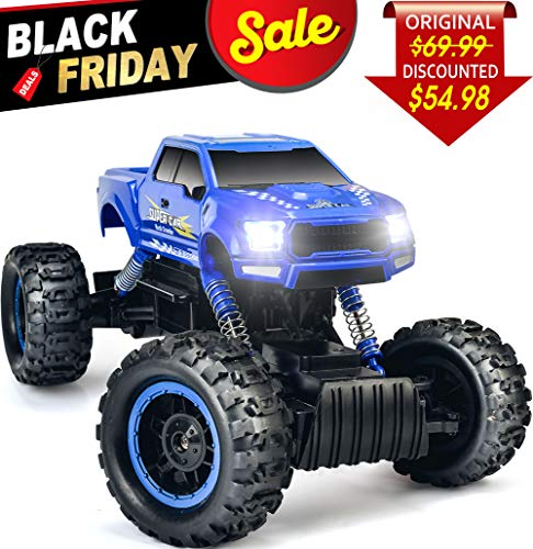 DOUBLE E 1:12 RC Cars Monster Truck 4WD Dual Motors