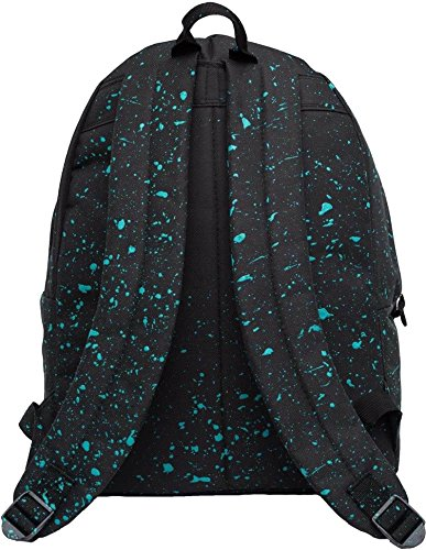 Hype Speckled - Bolso al hombro para hombre negro Speckled Black/Mint talla única