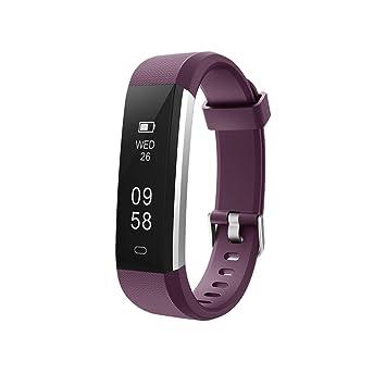 YHLDCA Montre Connectée Cardio Fitness Podomètre Cardiofréquencemètre Appel SMS Afficher Etanche Mode Multi-Sport pour