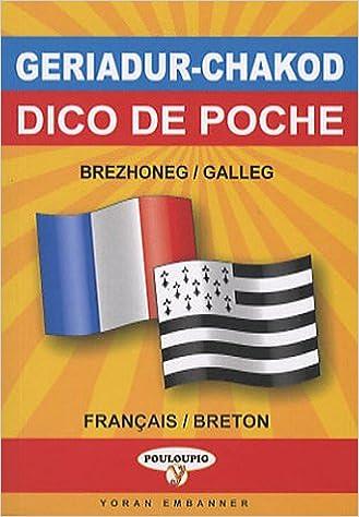 Amazon Fr Dictionnaire De Poche Breton Francais Francais