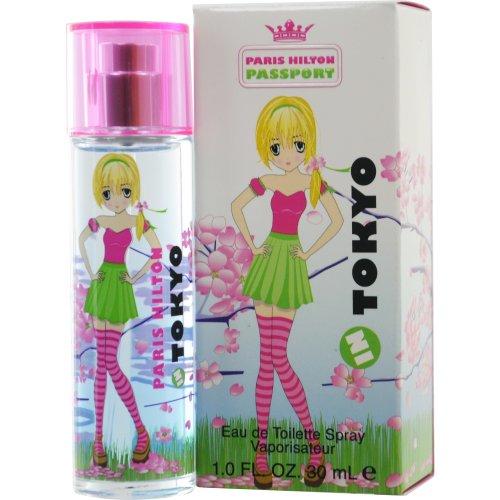 Paris Hilton Spray Eau De Toilette - Passport Tokyo Eau De Toilette Spray by Paris Hilton, 1 Ounce