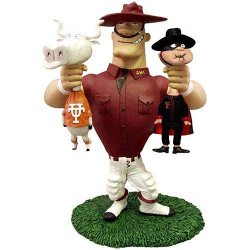 Kole Texas A&M Vs Texas & Texas Tech Rivalry Figurine - Ncaa Rivalry Figurine
