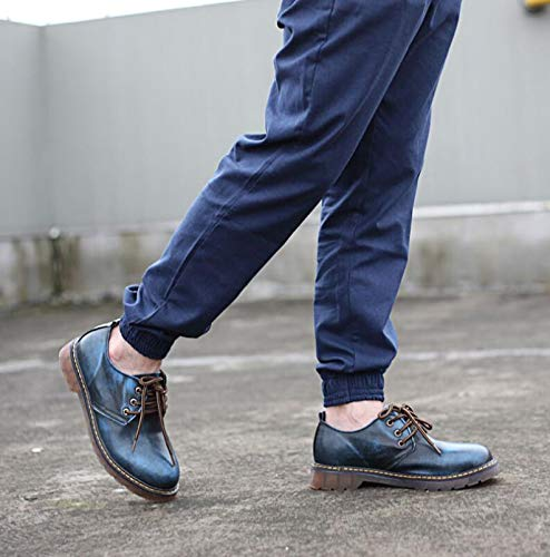Blue Stringate Scarpe Punk Nero 40 Nero Style EU Uomo 68nqwSB