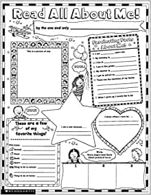 photograph about All About Me Kindergarten Printable identify : Immediate Specific Poster Sets: Examine All Over Me