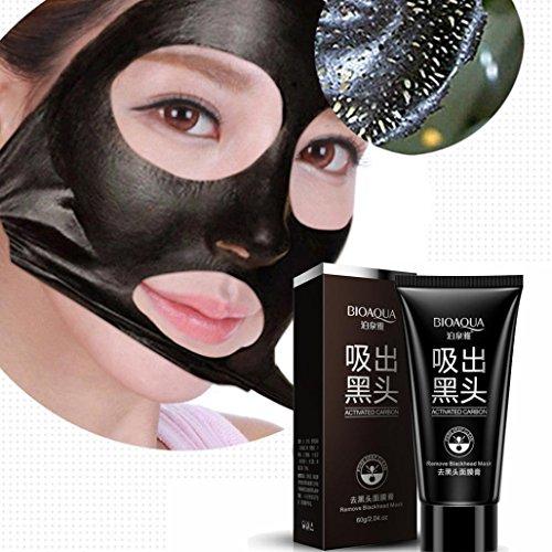 NOMENI Black Mud Deep Cleansing Pilaten Blackhead Remover Purifying Peel Face Mask