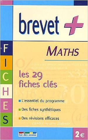 Lire Maths : Les fiches clés pdf, epub ebook