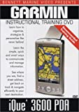 Garmin Ique 3600 PDA GPS Instructional Training DVD