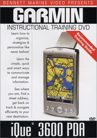 Garmin Ique 3600 PDA GPS Instructional Training DVD ()