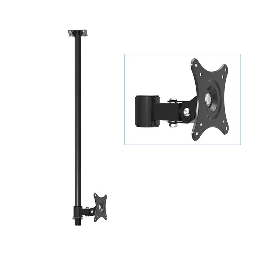XUE-XYW Monitor Ceiling Mount Bracket, for 90-110mm Displays Ceiling Monitor Mount Home Office Bedroom Classroom Meeting Room Video Call