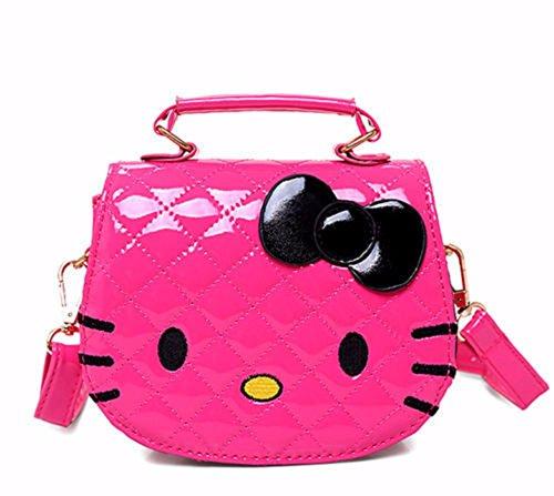 HOT PINK - New Women Girl Hellokitty Messenger Bag handba...
