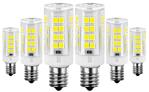 KINDEEP E12 LED Candelabra Bulb for Ceiling Fan Light, 40W Incandescent Bulb Equivalent, 6-Pack