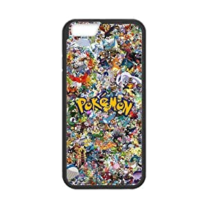 iPhone 6 Case, [Pokemon] iPhone 6 (4.7) Case Custom Durable Case Cover for iPhone6 TPU case(Laser Technology)