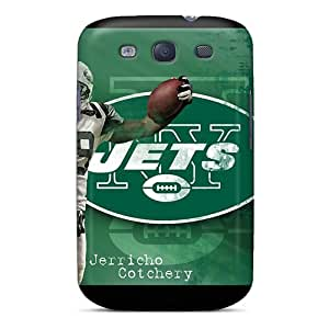 Durable Hard Cell-phone Cases For Samsung Galaxy S3 (GSD11798yLlJ) Allow Personal Design High Resolution New York Jets Series
