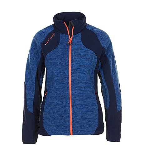 Peak Mountain - Chaqueta de lana mujer ACUT azul